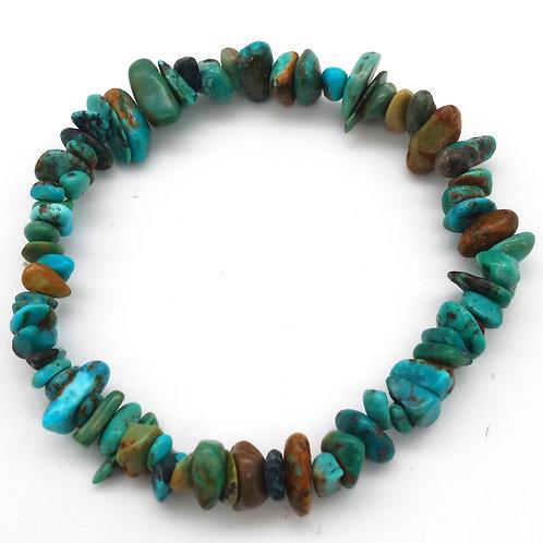 Turquoise Bracelet Baroque  Naturelle