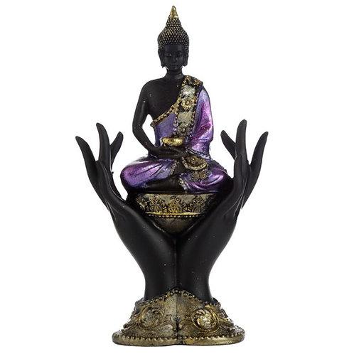 Bouddha Thaïlandais Assis Sur des Mains