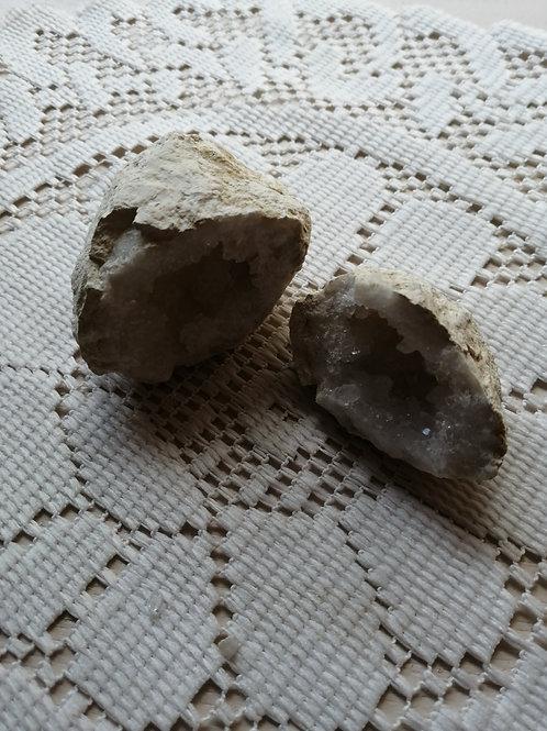 Géode cristal de roche 6 mini