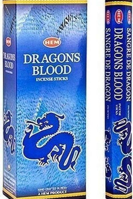 Encens  Sang de Dragon Bleu