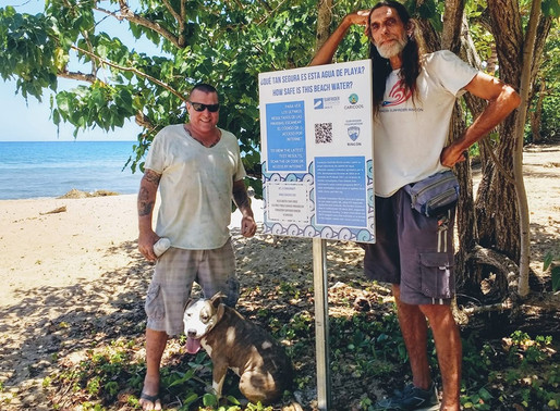 Surfrider Rincón Installs Water Quality Signage at Local Beaches