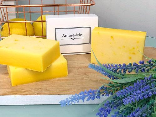 Flawless Bar - MOISTURISING: Goats Milk Soap,Essential Oils & Lemon Zest (small)