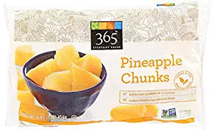 365 Everyday Value, Pineapple Chunks, 16 oz, (Frozen)