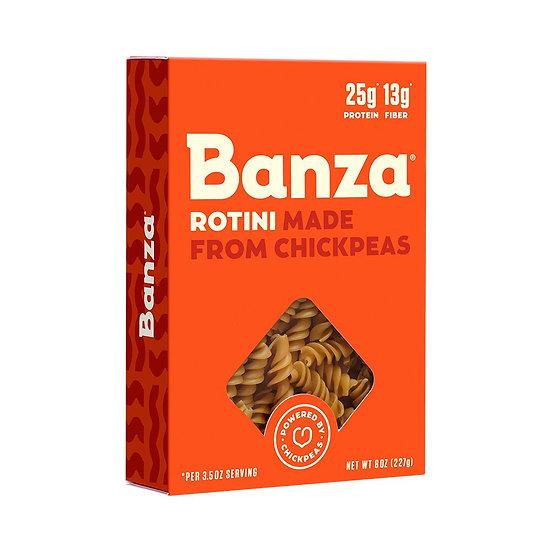 Banza Chickpea Pasta – High Protein Gluten Free Healthy Pasta – Rotini (8 oz)