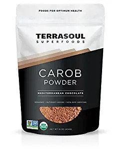 Terrasoul Superfoods Organic Carob Powder, 1 Pound