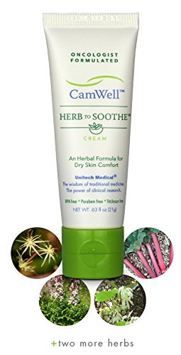 Radiation Cream Burn Skin Relief CamWell Herb to Soothe Oncologist formulated