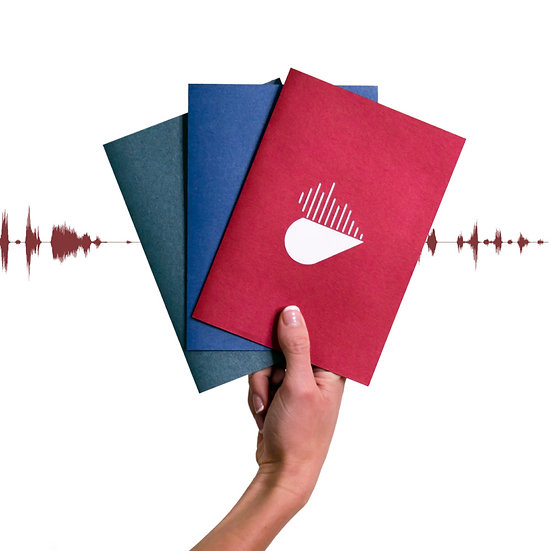 Soundwave Greeting Card - Hear With You