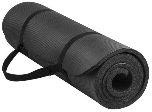 BalanceFrom GoYoga All-Purpose 1/2-Inch Thick High Density Exercise Yoga Mat