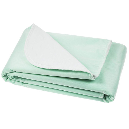 Vive Washable Incontinence Bed Pad - Heavy Duty, Absorbent Waterproof