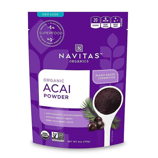 Navitas Organics Acai Powder, 4 oz.