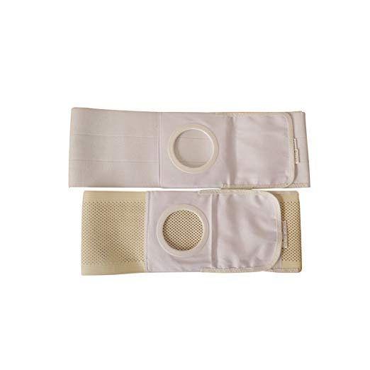 Whthteey Elastic Ostomy Hernia Belt for Waist Abdominal with Stoma Opening
