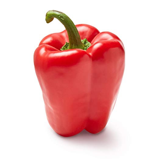 Red Bell Pepper, One Medium