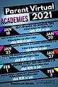 English Flyer Parent Academies Jan 2021.