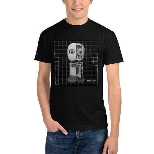 MAKI edu X-ray Grid T-shirt