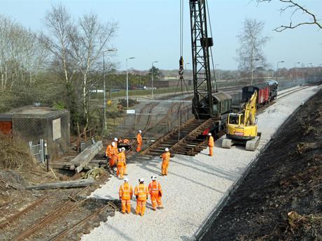 Swanage Railway Volunteers Celebrate Winning Coveted Civil Engineering Award for Wareham Trains Line