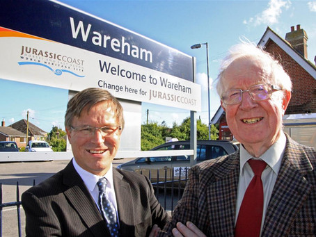 Public Train Service to link Swanage & Corfe Castle with the Main Line at Wareham – for the firs