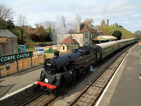 Covid-safe Swanage Railway steam train service to resume on Monday 12 April 2021