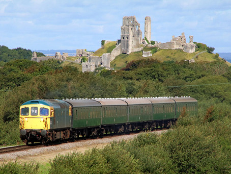 Swanage Railway to Reopen with Special Fund-raising Diesel Train Service
