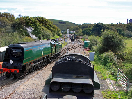 August bank holiday weekend 'Roads to Rail' mini steam rally to take place near Corfe Castle