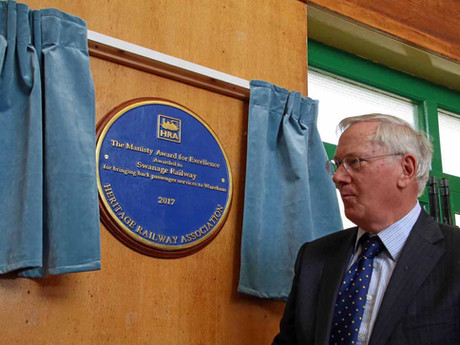 Royal Recognition for More Than 40 Years of Volunteer Endeavour that Returned Trains to Wareham