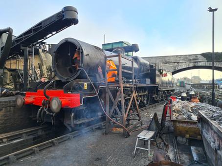 Southern Railway 'Moguls' swap boilers