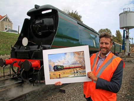 Paintings by Talented Artist Help Raise Money for 'Save Our Service' Coronavirus Appeal