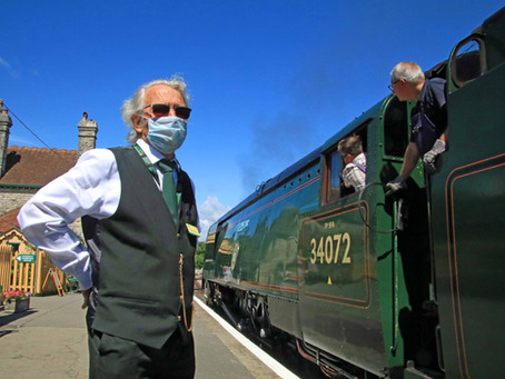 Swanage Railway Receives Substantial Grant from Government's £1.57 Billion Culture Recovery Fund