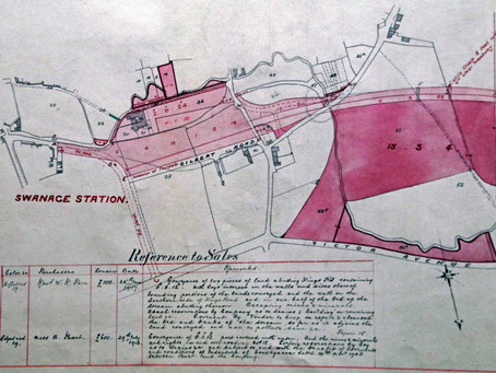 Remarkable Book of Land Surveyor's Drawings Reveal the Building of the Swanage Railway