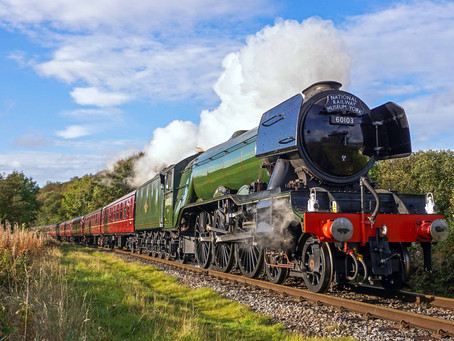 Record-Breaking 'Flying Scotsman' to Visit Swanage and Run With Rare Pullman Carriage for First Time
