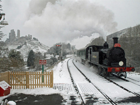 New 'Steam and Lights' Trains to be Coronavirus Safe Pre-Christmas First for Swanage Railway