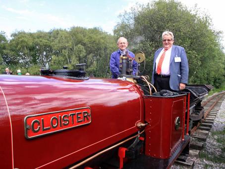 Swanage Railway Trust Patron Sir William McAlpine Dies