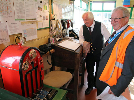 Former Dorset High Sheriff appointed a Patron of The Swanage Railway Trust