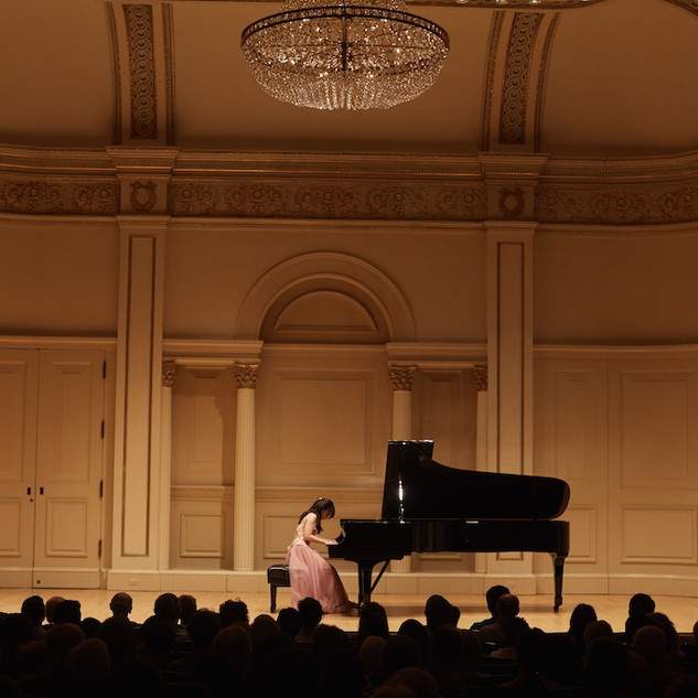 Stephanie Onggowinoto at Carnegie's Weill Hall