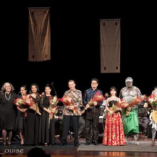 Voyage to Marege at Teater Besar Taman Ismail Marzuki (31/08/2017). Photo credit: Poppy Louise
