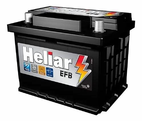 Bateria Heliar 60Ah cx alta