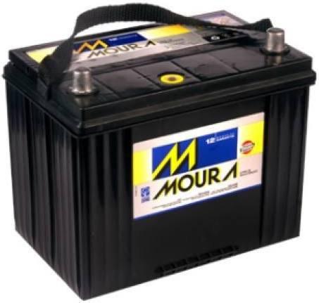 Bateria Moura 80Ah - 15 meses de garantia