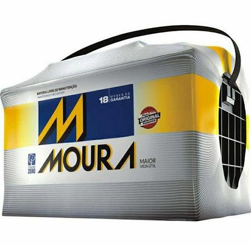 Bateria Moura 75Ah - 18 meses de garantia