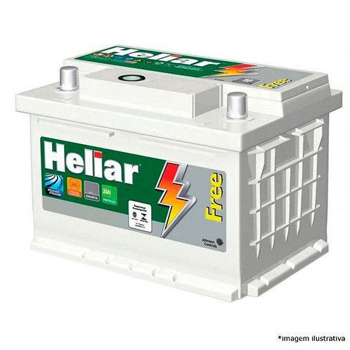 Bateria Heliar 60Ah - 2 anos de garantia
