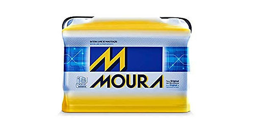 Bateria Moura 50Ah - 18 meses de garantia