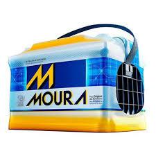 Bateria Moura 60Ah - 18 meses de garantia