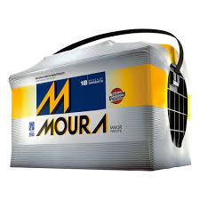 Bateria Moura 70Ah - 18 meses de garantia