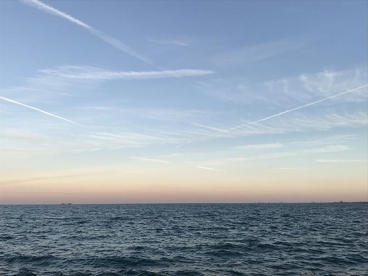 Promontory Lake Front Sunset November 20