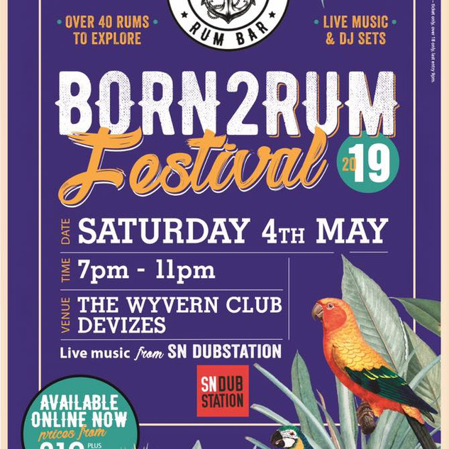 Our first BORN2RUM Festival hosted in Devizes