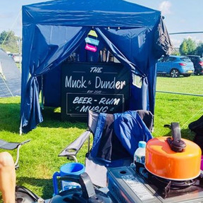 The original Muck & Dunder bar at the 2018 Victorious Festival - you've got to start somewhere!