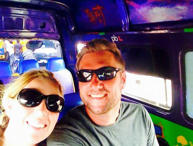 Rum Shop Tour - we travelled one side of Barbados in this beauty of a Reggae Z-Bus, discovering the best Rum Shops!