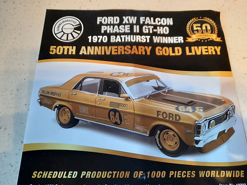 Moffat 50th anniversary Gold Livery PREORDER