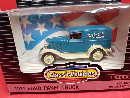 1932 Ford Panel Truck diecast.
