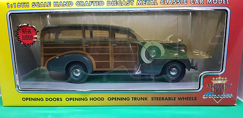 Motor City 1939 Chevy Woody Wagon Diecast Car