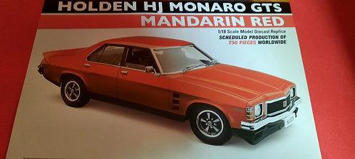 HJ Monaro GTS Mandarin Red
