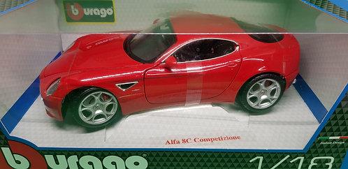 Bburago Alfa 8C Competizione Diecast Car